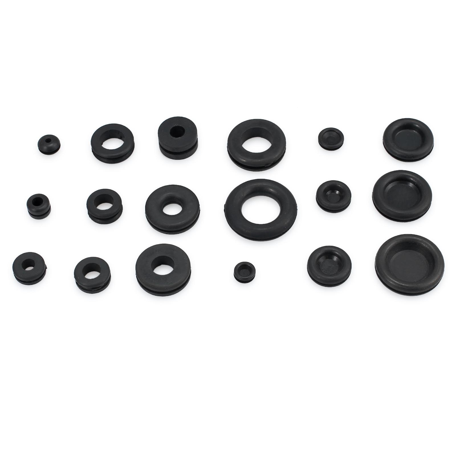 250 pcs anneau oeillets en caoutchouc assortiment joint d/'étanchéité kit