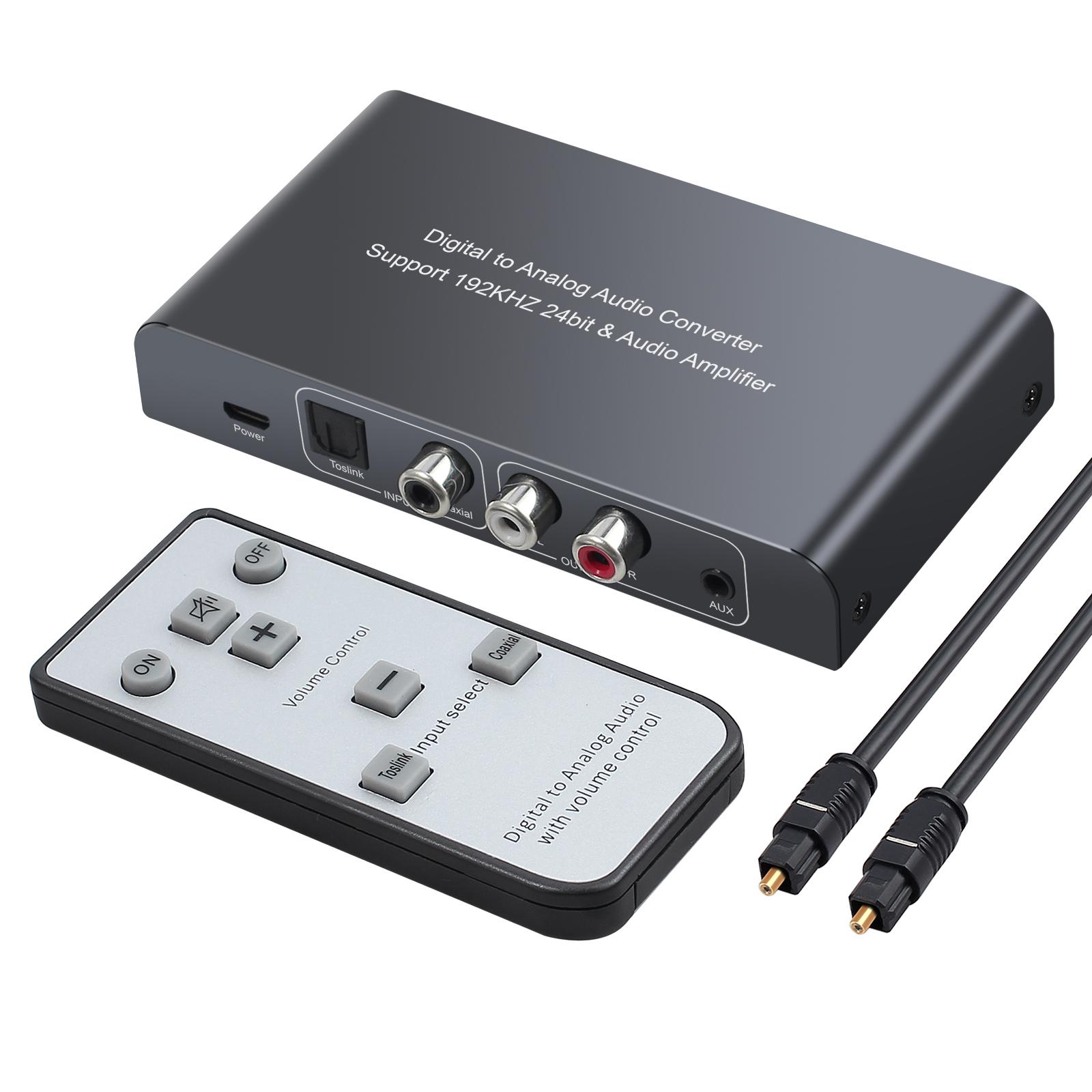 digital analog audio konverter toslink spdif koaxial zu. Black Bedroom Furniture Sets. Home Design Ideas