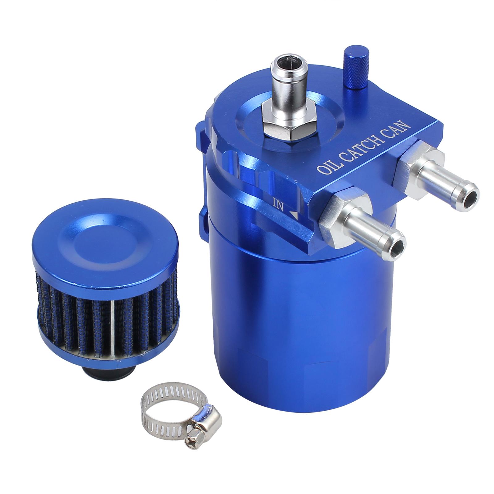 blue aluminum engine oil catch tank cylinder catch. Black Bedroom Furniture Sets. Home Design Ideas