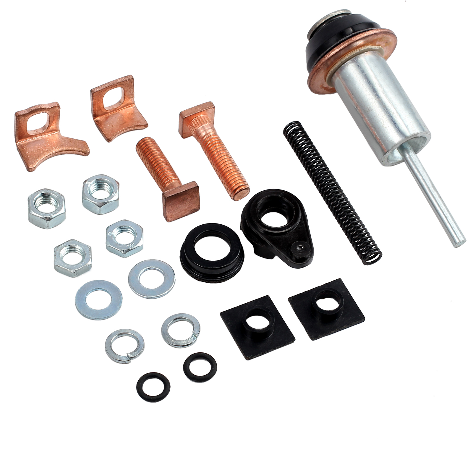 Starter Motor Solenoid Repair Kits Nuts For Land Rover