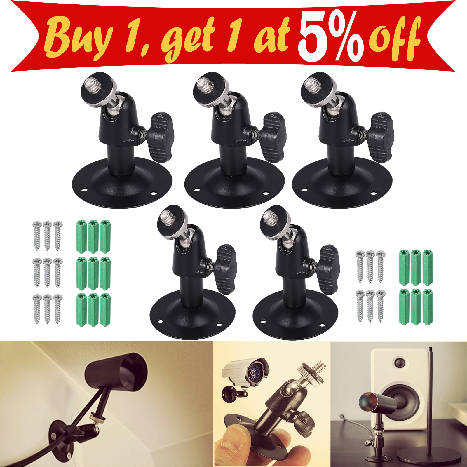 Practical Camera Security Bracket Stand Wall Mount for Arlo//Arlo Pro USA