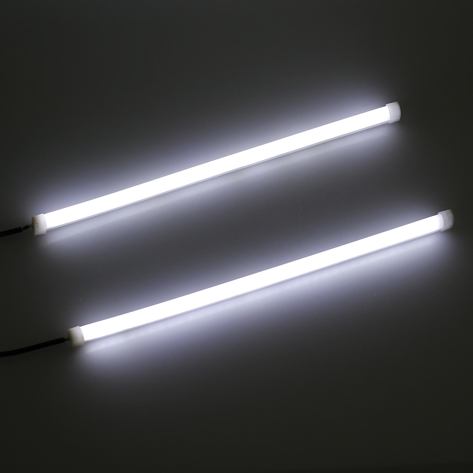 2x 30cm led auto tagfahrlicht drl strip streifen lampe. Black Bedroom Furniture Sets. Home Design Ideas