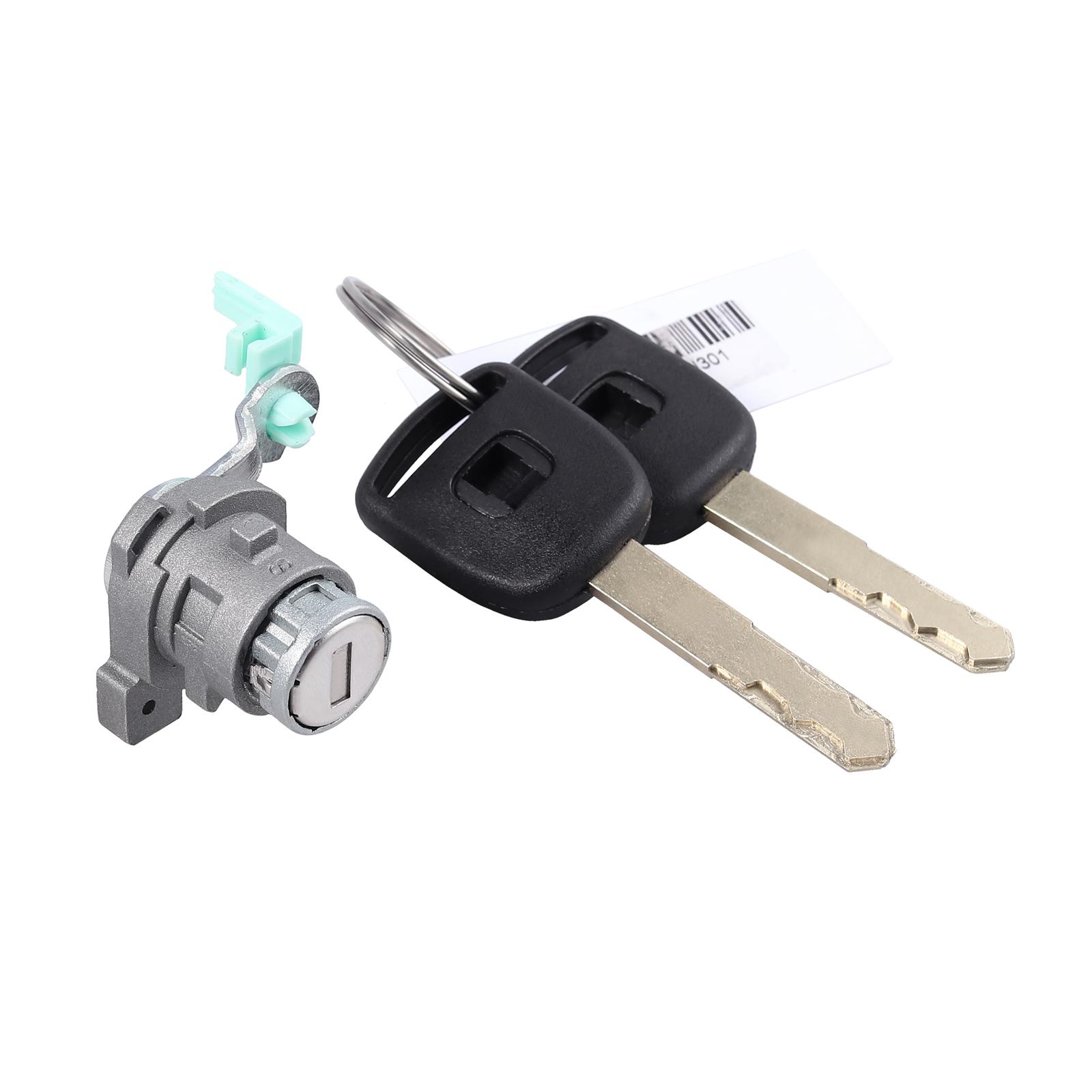 Left Driver Side Door Lock Cylinder W// 2Key For Accord 03-07 4Door 72181SDAA11