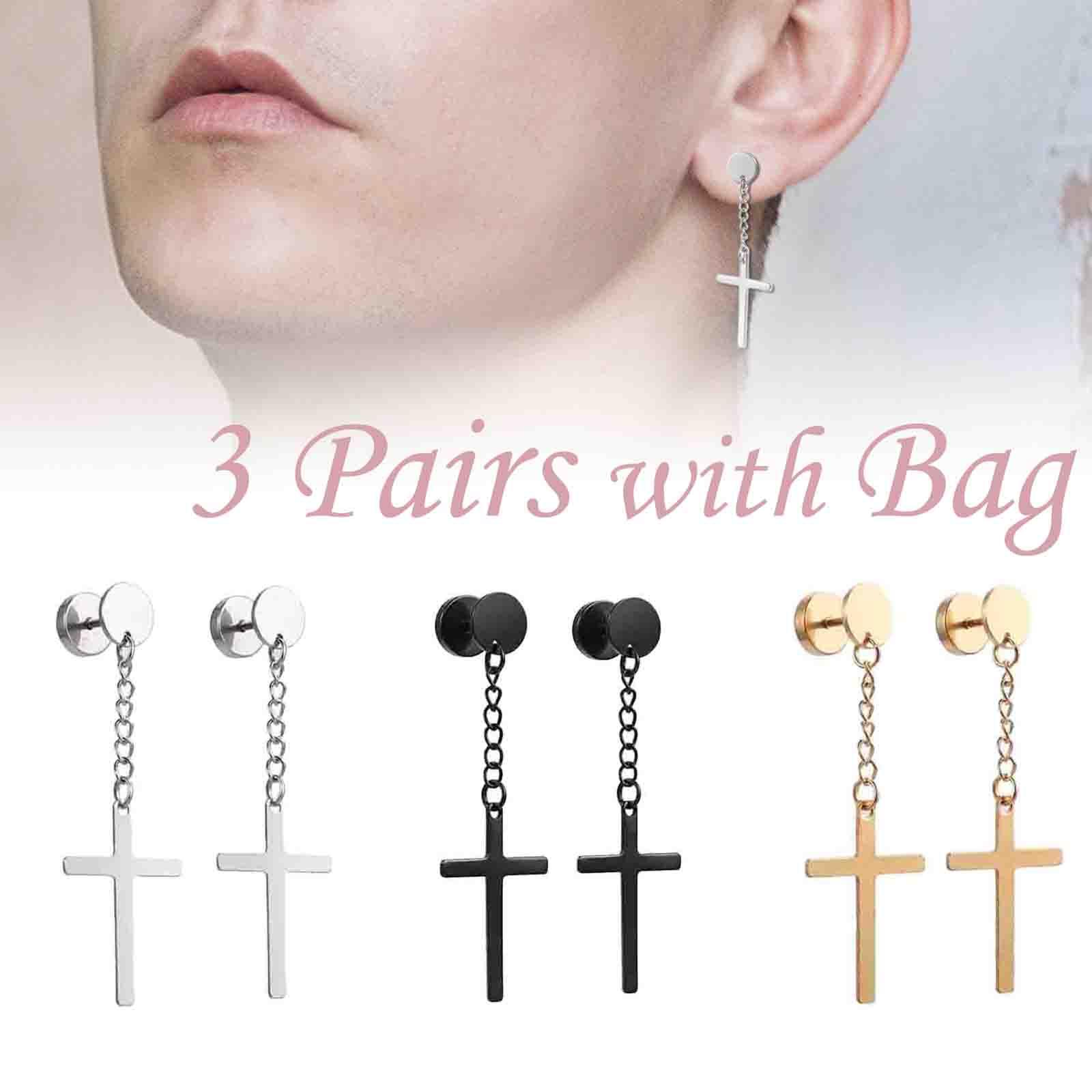 72a3a3d2d95d6 Dangling Cross Earrings For Mens - Best All Earring Photos ...