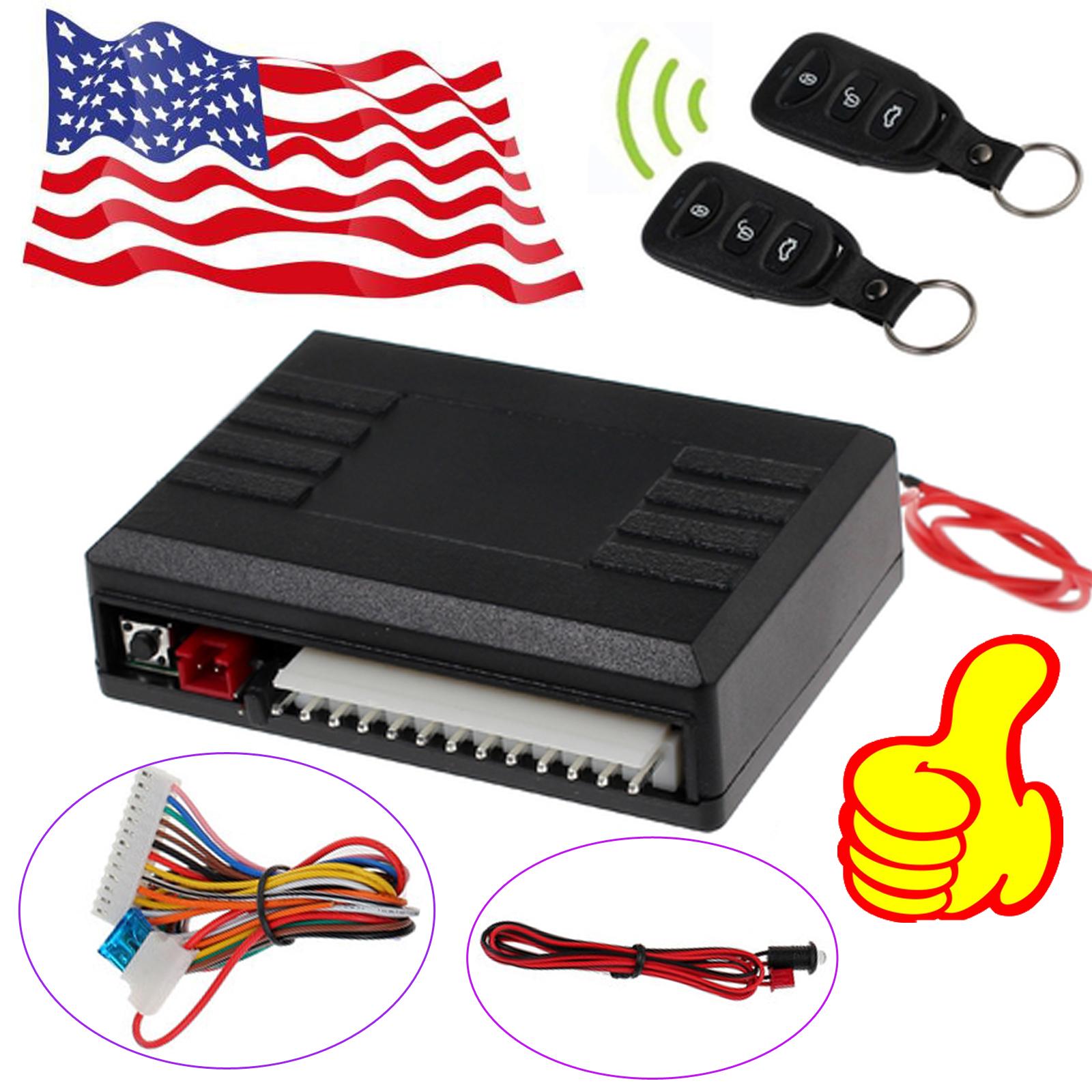 Car Remote Unlocker >> Universal Car Auto Keyless Remote Control Central Door Lock Unlock