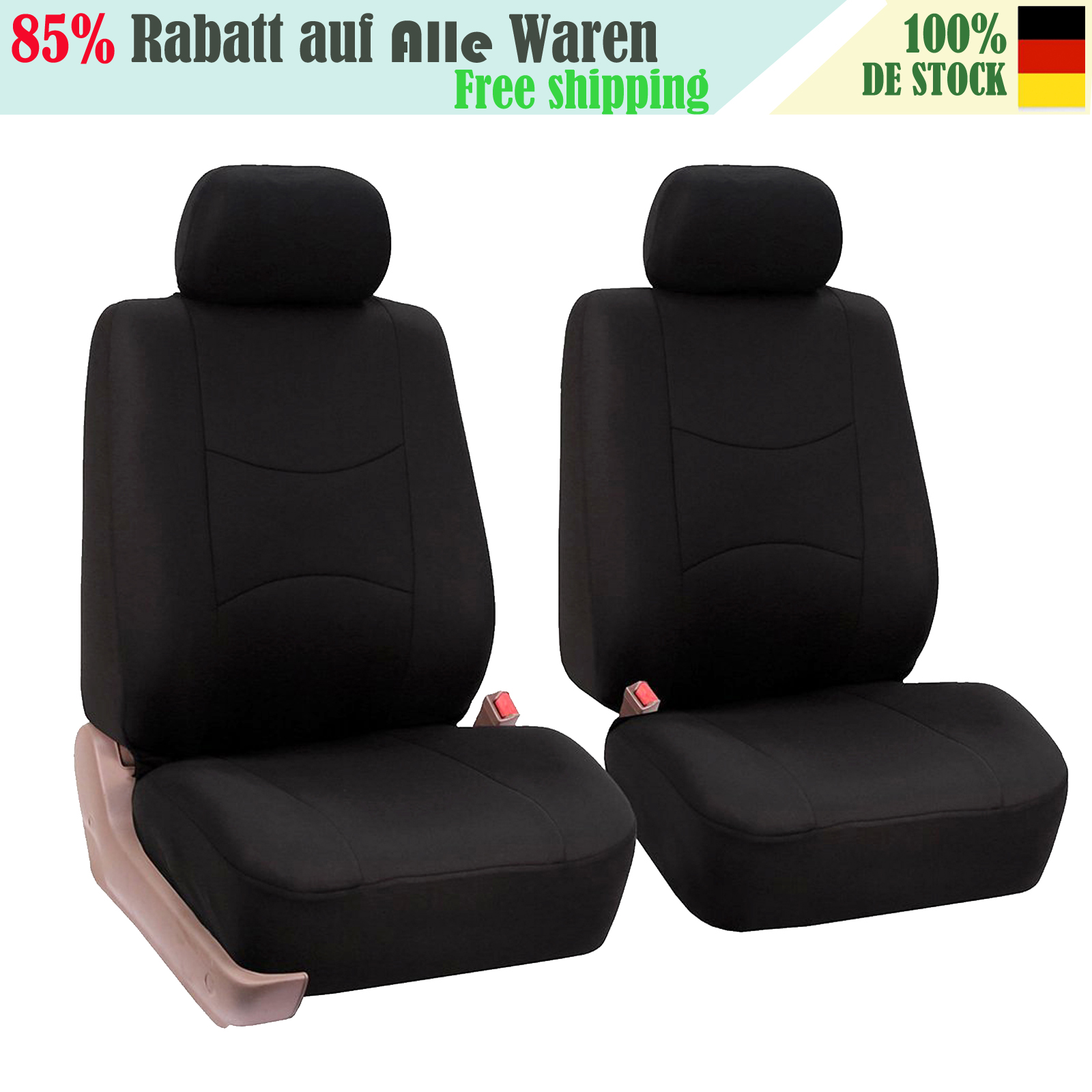2+1 Sitzbezug Werkstattbezug Werkstattschoner schwarz Polyester Neu Universal
