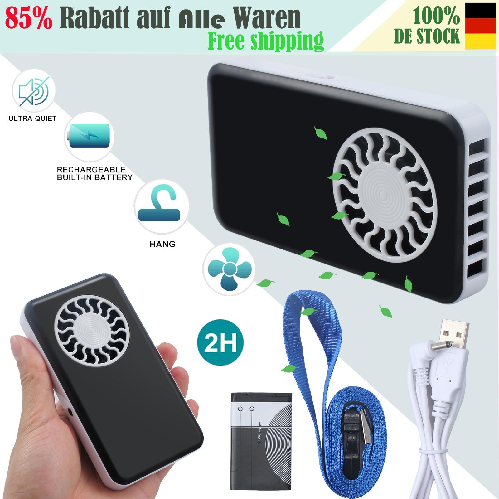 Mini Handheld Ventilator USB-Lüfter Tragbare Tischlüfter Handlüfter für
