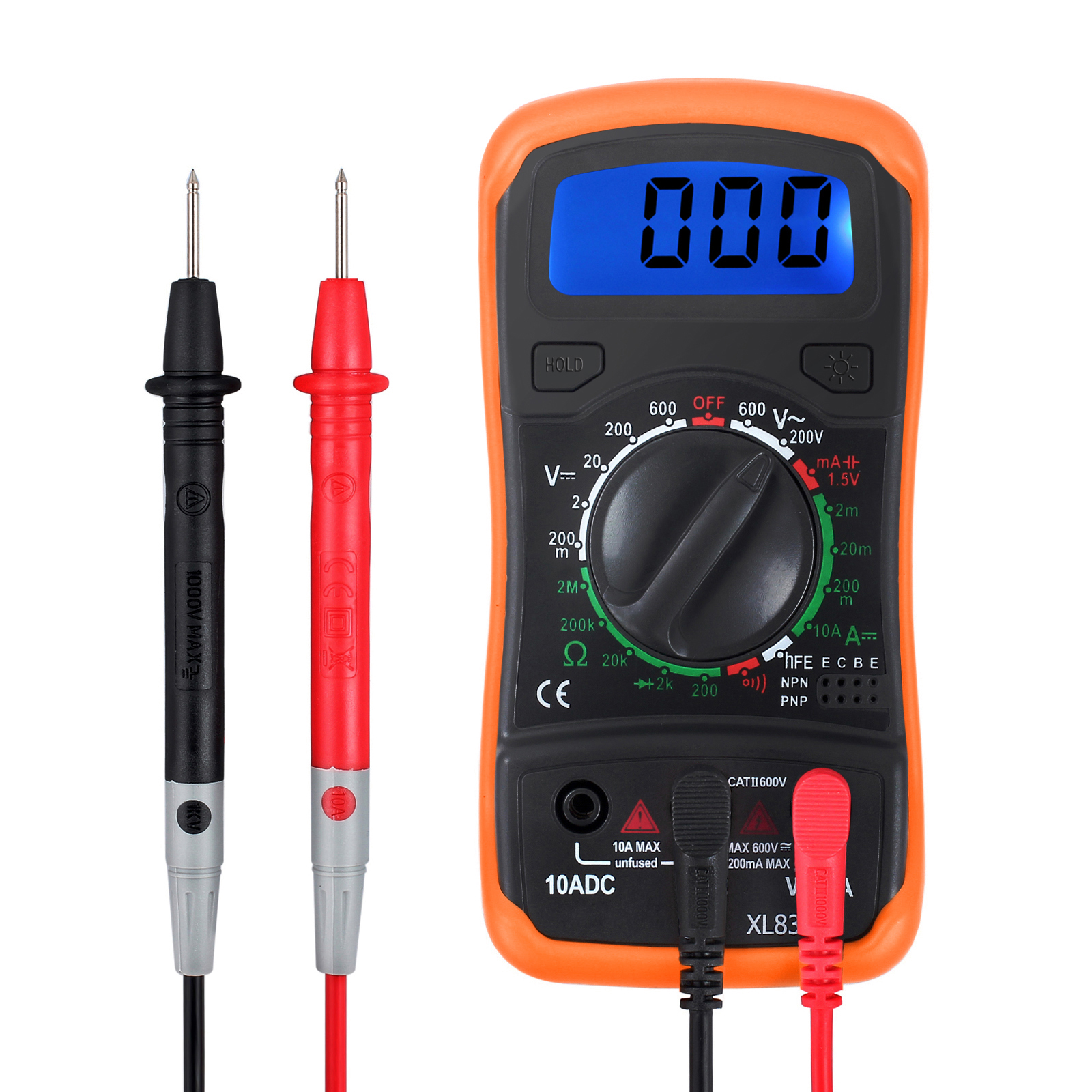 AC//DC 12-250V Non-Contact LCD Electric Test Pen Voltage Detector Digital Z7 Q6T7