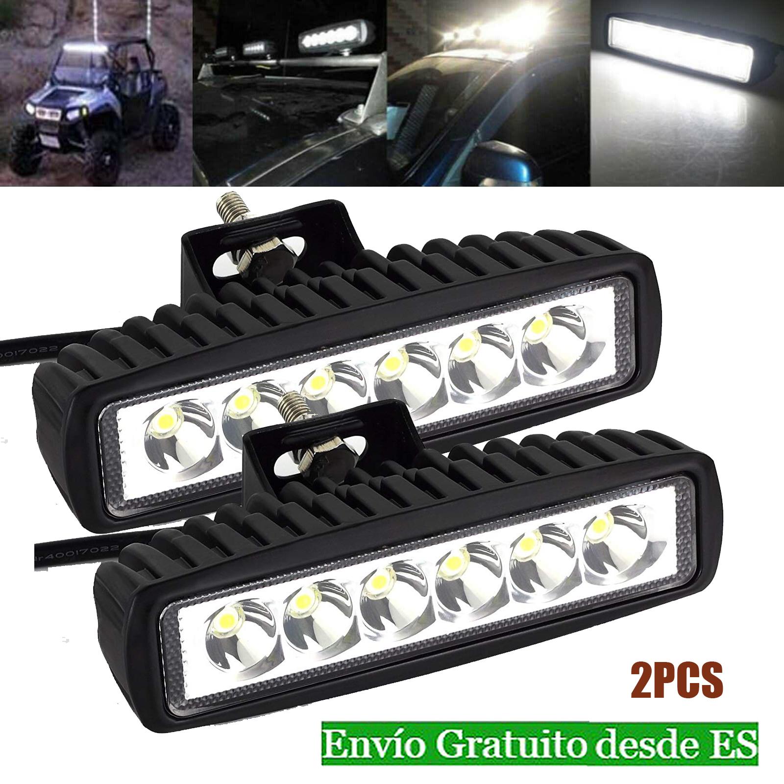 4x 12V 24V LED Lámpara De Trabajo Spot Luz 51W Offroad Camión Barco ATV SUV car Bar Spot