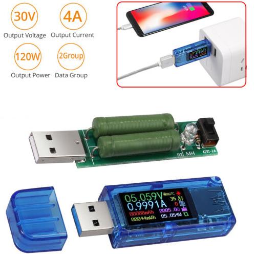 7 in 1 Detector LCD USB Voltage Current Meter Voltmeter Ammeter Power Tester