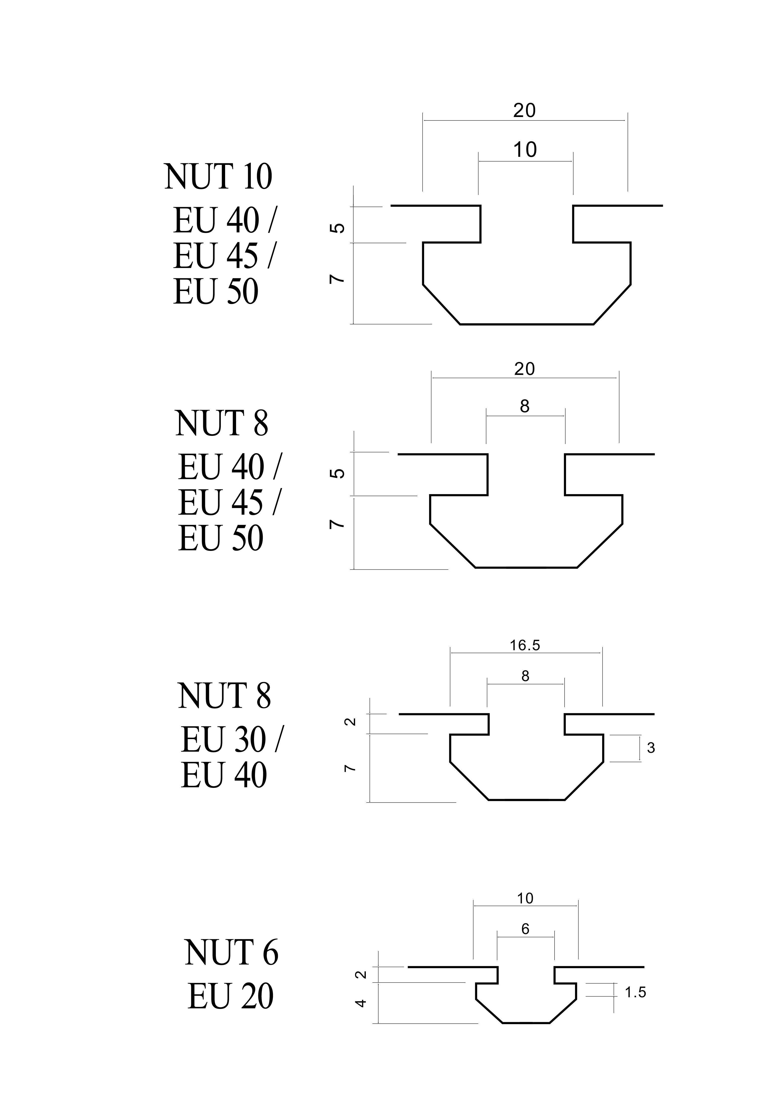 20ALU Streckenverbinder 180mm f 40-er Nut 8 Profile Profilverbinder 60Schrauben