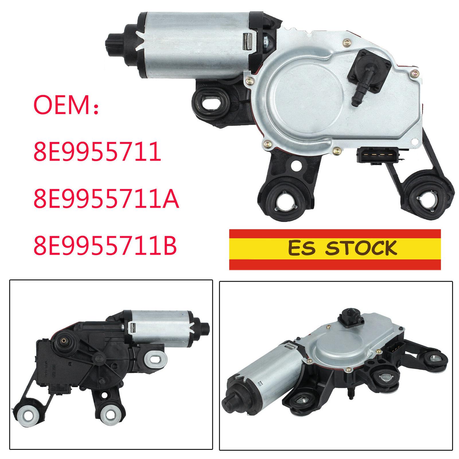 Motor limpiaparabrisas Trasero para Audi A3 8P A4 A6 Q5 Q7 8E9955711A 8E9955711E
