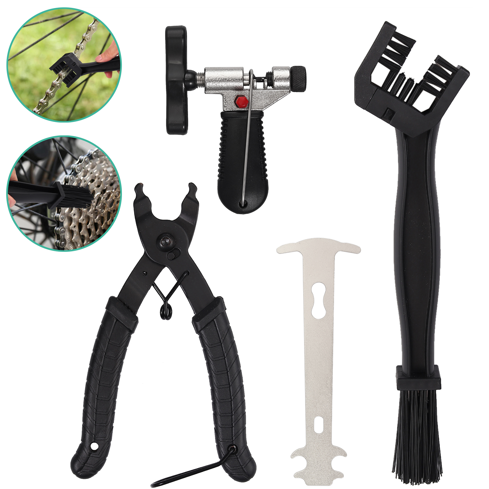 Bike Bicycle Open Close Chain Magic Buckle Removal Repair Tool Master Link Plier