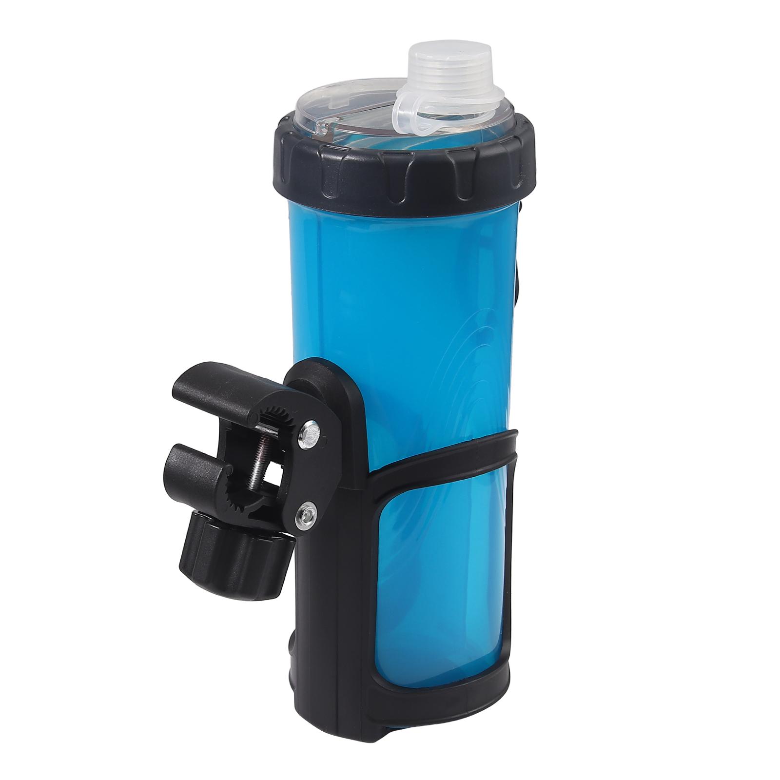 Flaschenhalter Fahrrad Getränkehalter Trinkflasche 360° für Kinderwagen Fahrrad