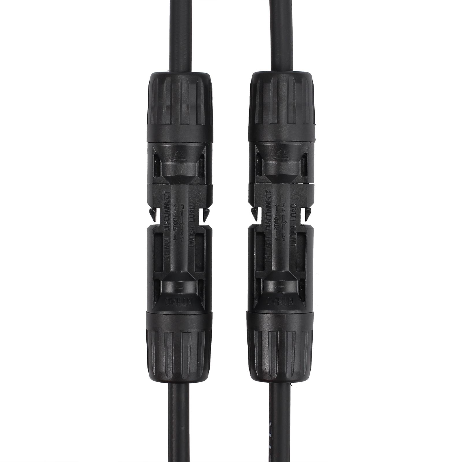 1 Paire Y Type MC4 30A connecteurs de câble panneau solaire Branche Fil PV FR