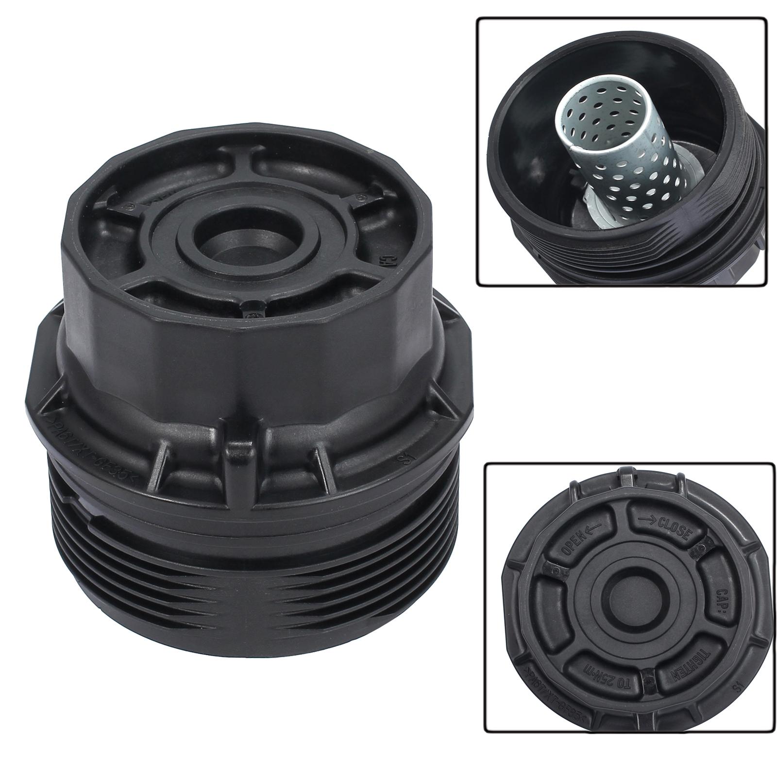 Oil Filter Housing Cover Cap Trim Assembly For Toyota Lexus Scion 15620 37010 Ebay