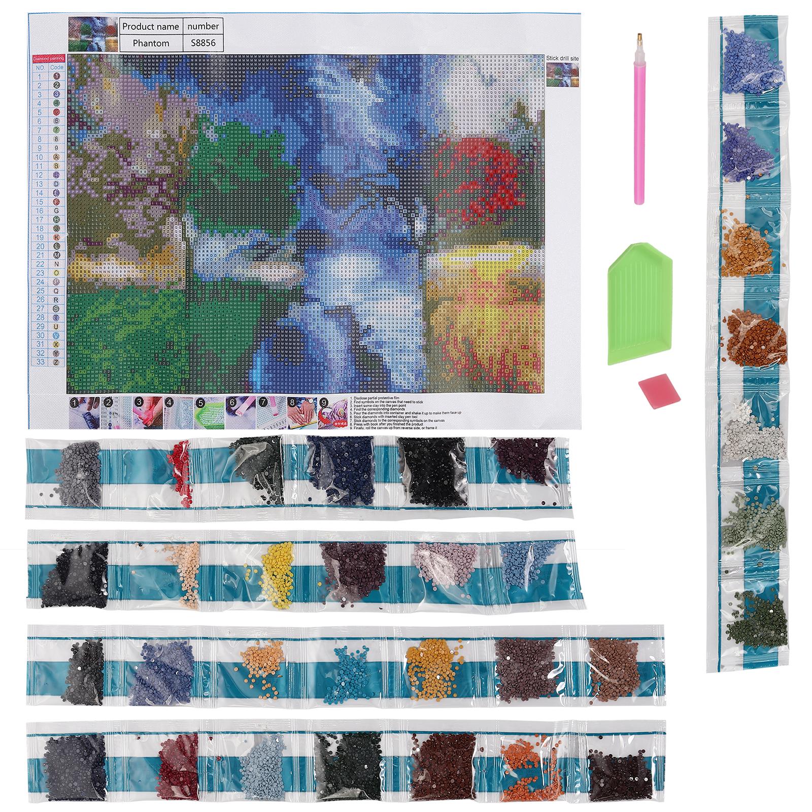 DIY 5D Diamond Painting Full Drill Embroidery Cross Craft Stitch Kits Home Decor