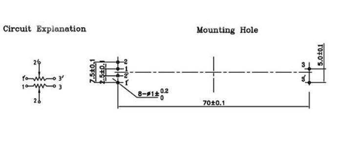 Details about 10PCS 75mm Behringer Mixer Fader B10K Dual Double Straight  Slide Potentiometer