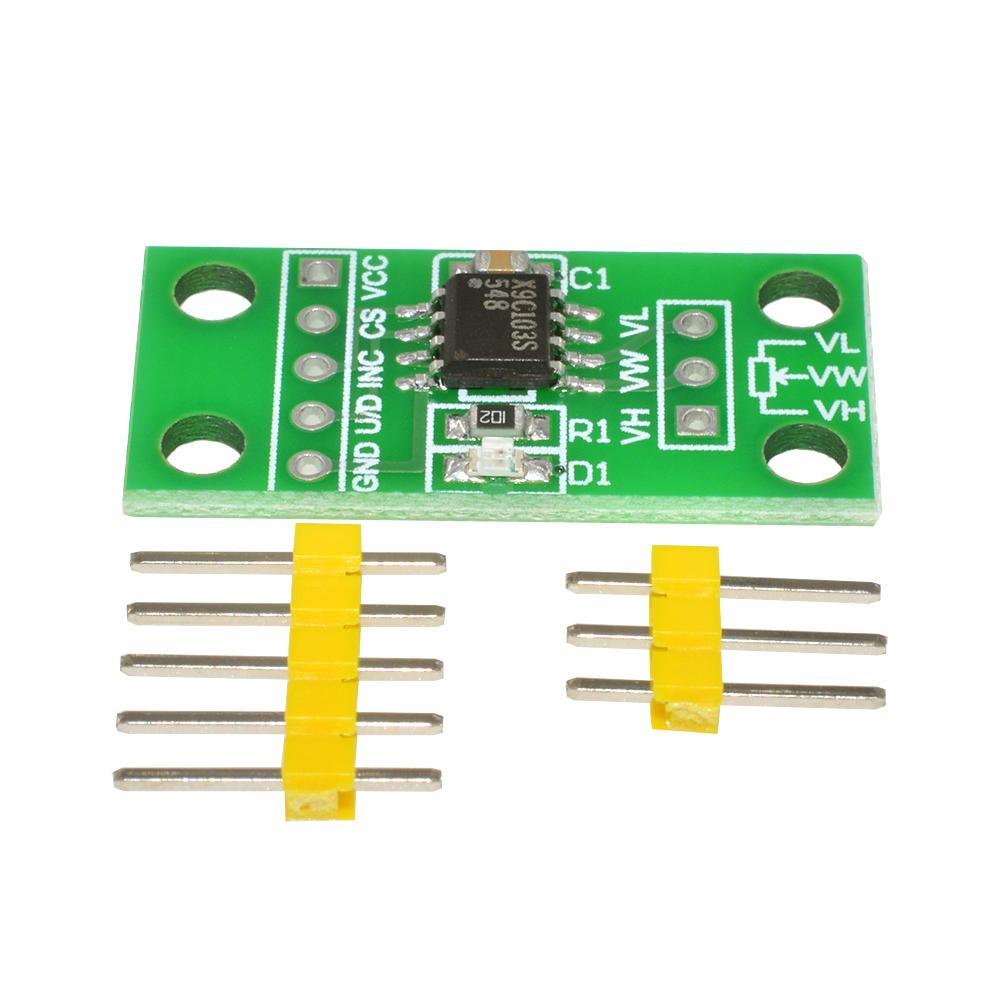 1PCS X9C103S Digital Potentiometer Board Module for Arduino DC 3V-5V