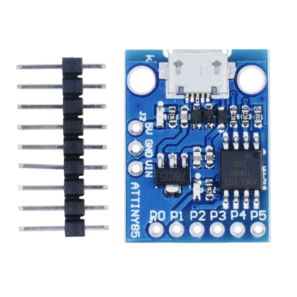 1//2//5//10PCS Attiny85 Kickstarter USB PWM I//O ADC Development Board for Arduino