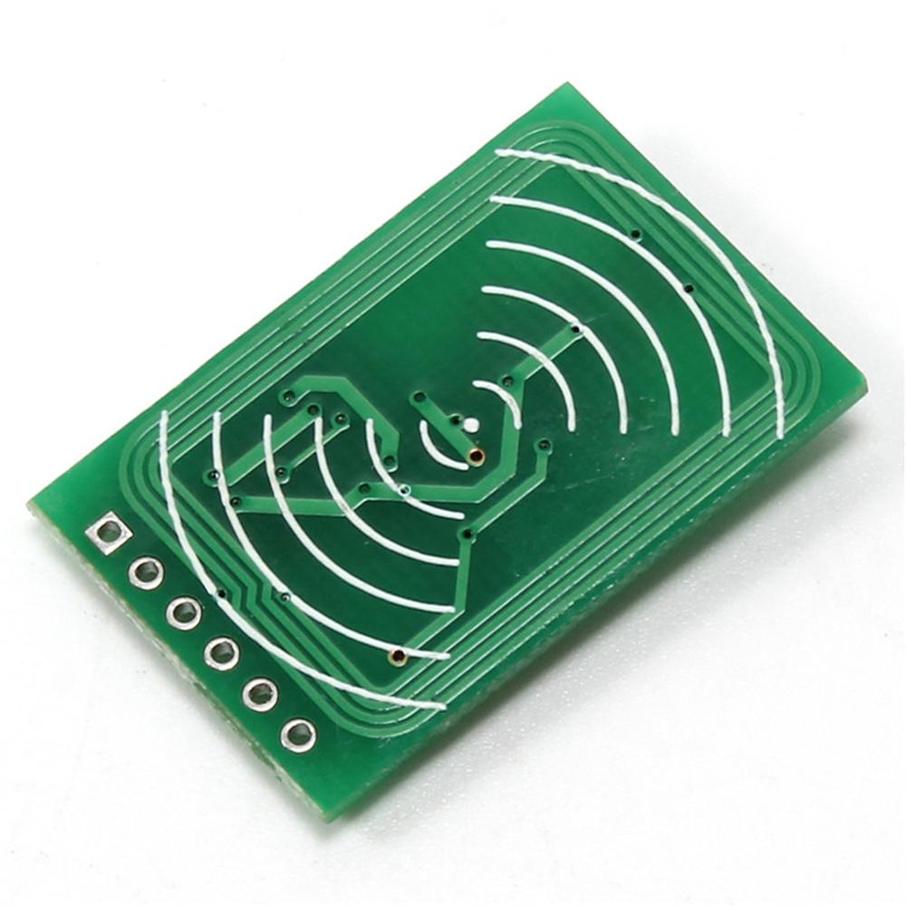 13.56MHz I2C SPI Interface IC RC522 RFID Read Write Card Module IC Keychain CF