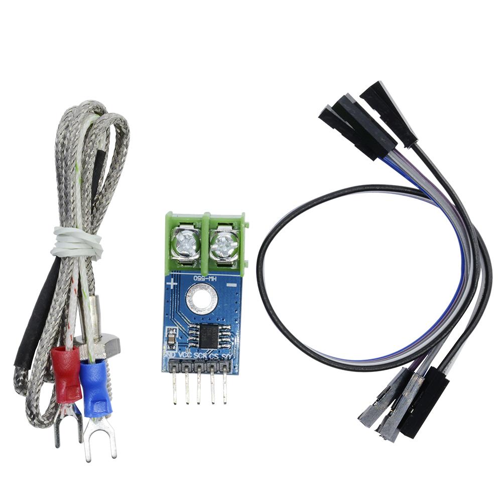 K Type Thermocouple Temperature Sensor for Arduino GM MAX6675 Module