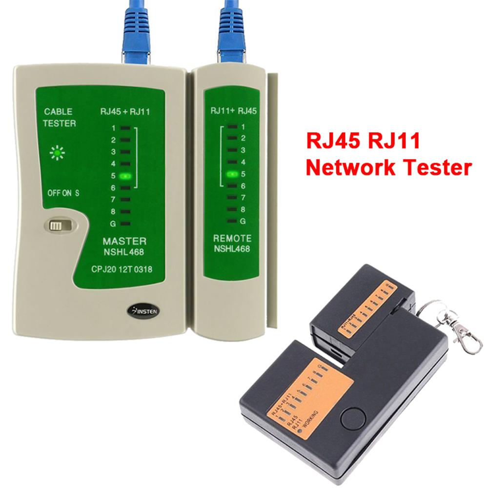 RJ45 RJ11 Cat5e Cat6 Network Lan Cable Tester Test Tool New