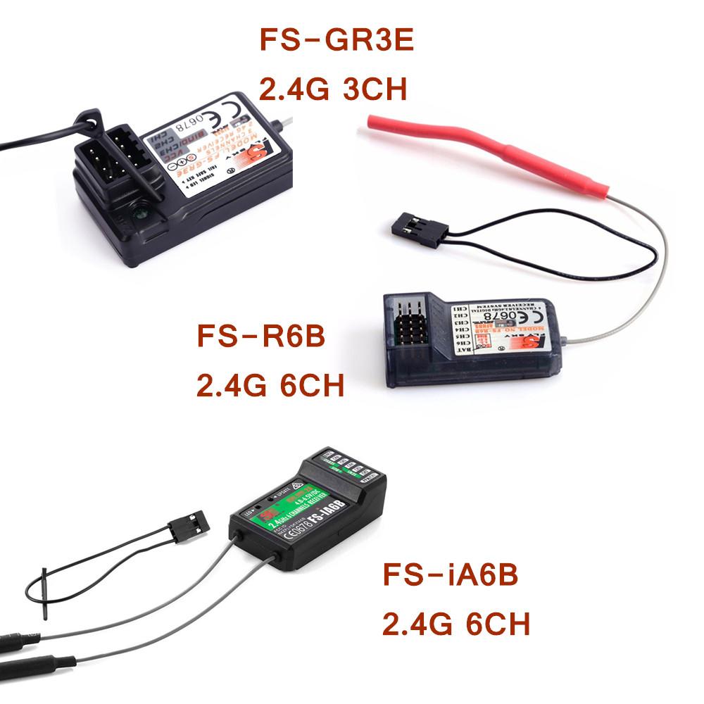 Flysky 2.4G FS-iA6B//FS-R6B//FS-GR3E 3//6Ch Receiver PPM Output for RC CAR Flysky
