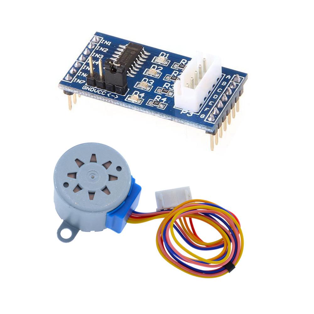 2pcs 28BYJ-48 ULN2003 Driver Module DC5V Stepper Motor Test Board for Arduino