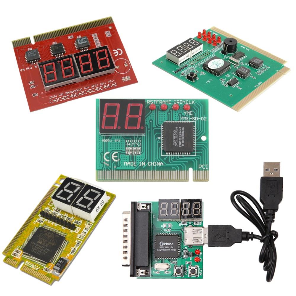 2-Digit USB PCI Motherboard Diagnostic Analyzer Test Card Laptop PC Desktop