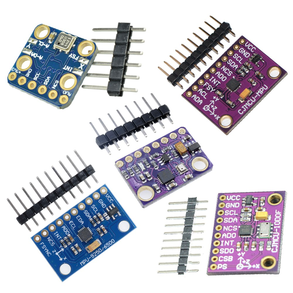 Details about MPU9250 BMP180 BMP280 MS5611 10 DOF 9Axis SPI/I2C  Magnetometer Gyro Accelerator