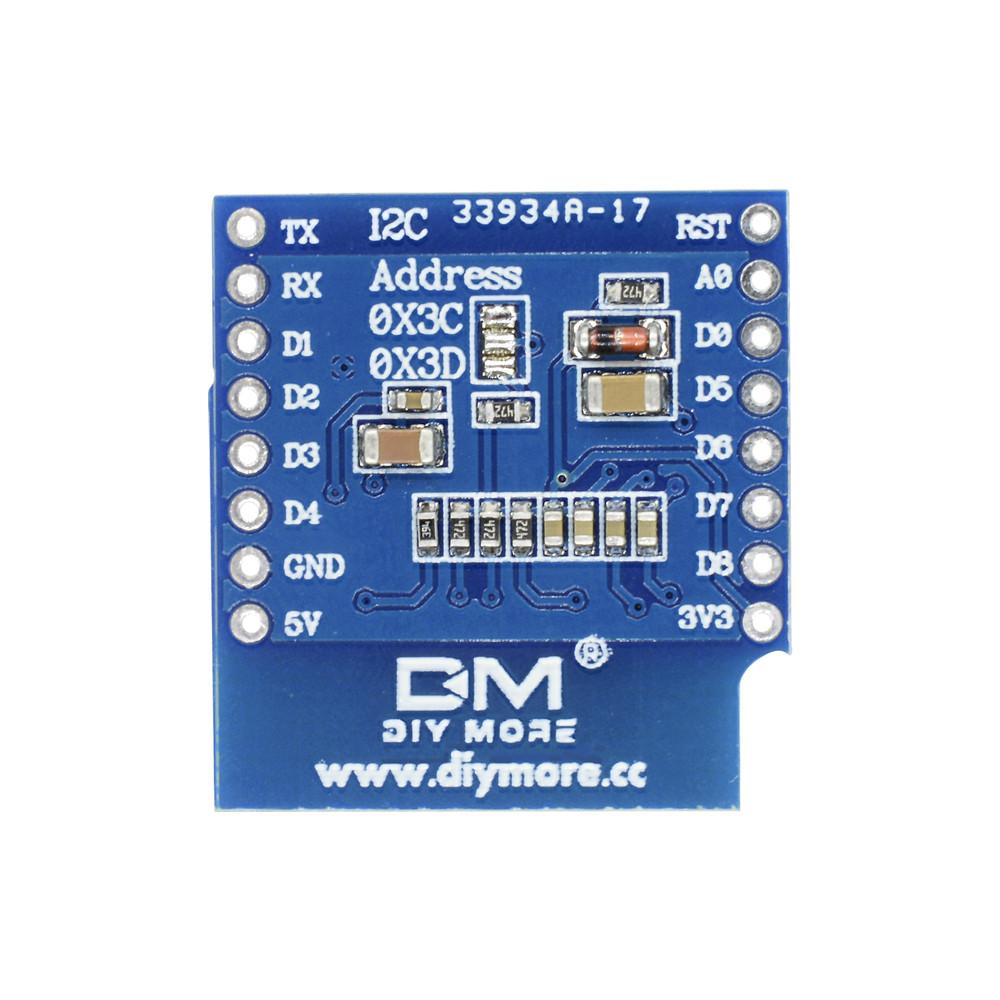 "0.66/"" D1 Mini OLED Display SSD1306 64x48 Shield for ESP8266 Arduino NodeMcu SE"