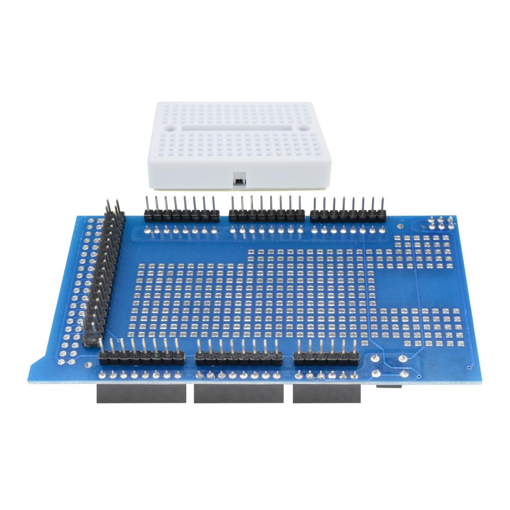 MEGA 2560 Pro ATMEGA2560-16AU USB CH340G ProtoShield V3 Breadboard For Arduino
