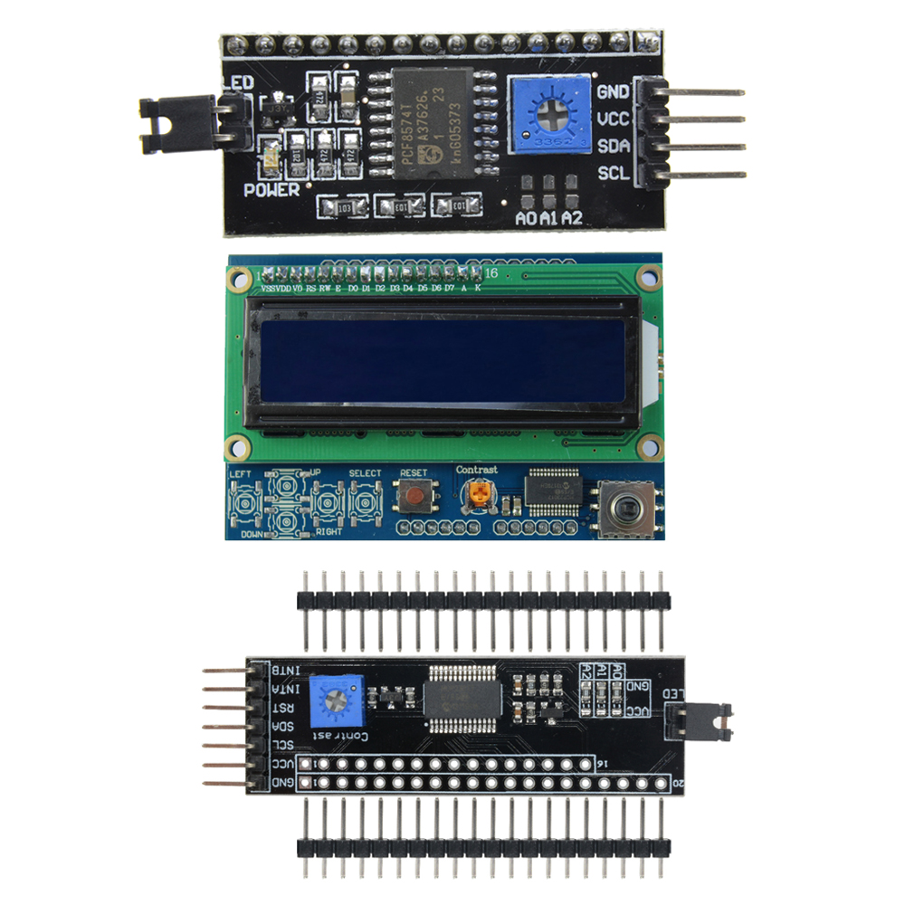 Serial IIC I2C Serial Interface Adapter Board for Arduino uno r3 1602 2004 LCD
