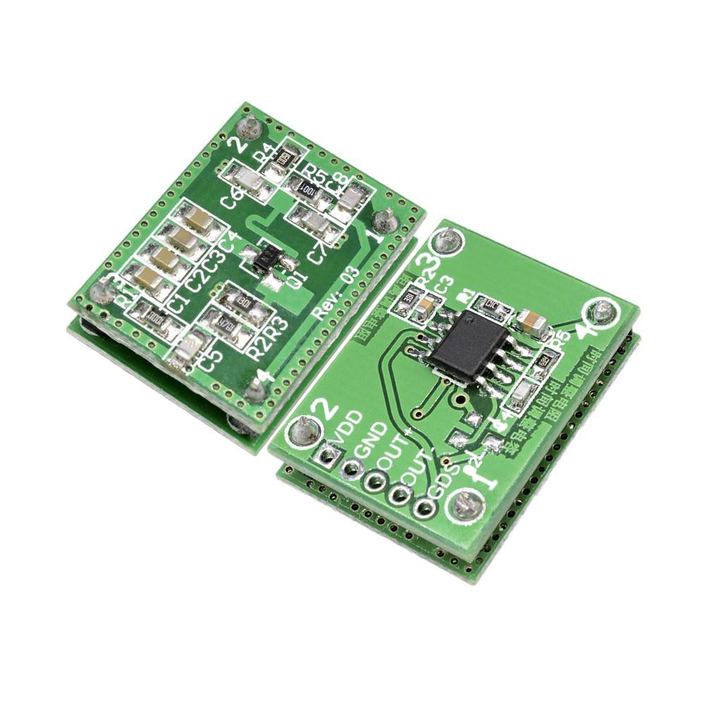 LV002 DC 5.5-36V 8-15m Doppler Radar Microwave Sensor Switch Module