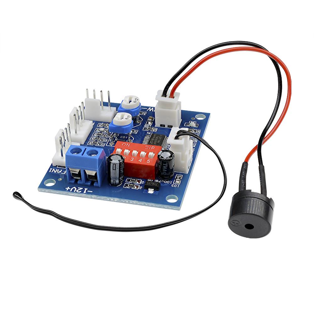 Automatic Temperature Control CPU Fan Speed DC Controller 12V PWM PC Boarha