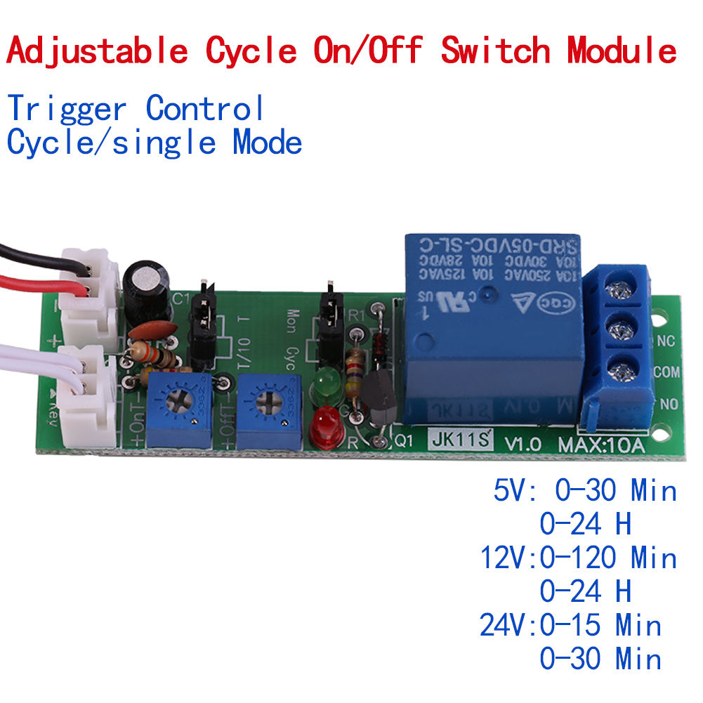 Relay Switch Timer