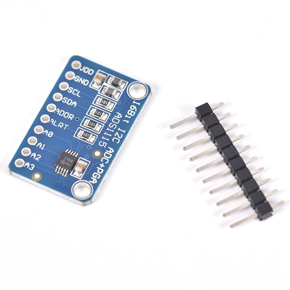 16 Bit I2C ADS1115 Module ADC 4 channel w// Pro Gain Amplifier for Arduino RPi