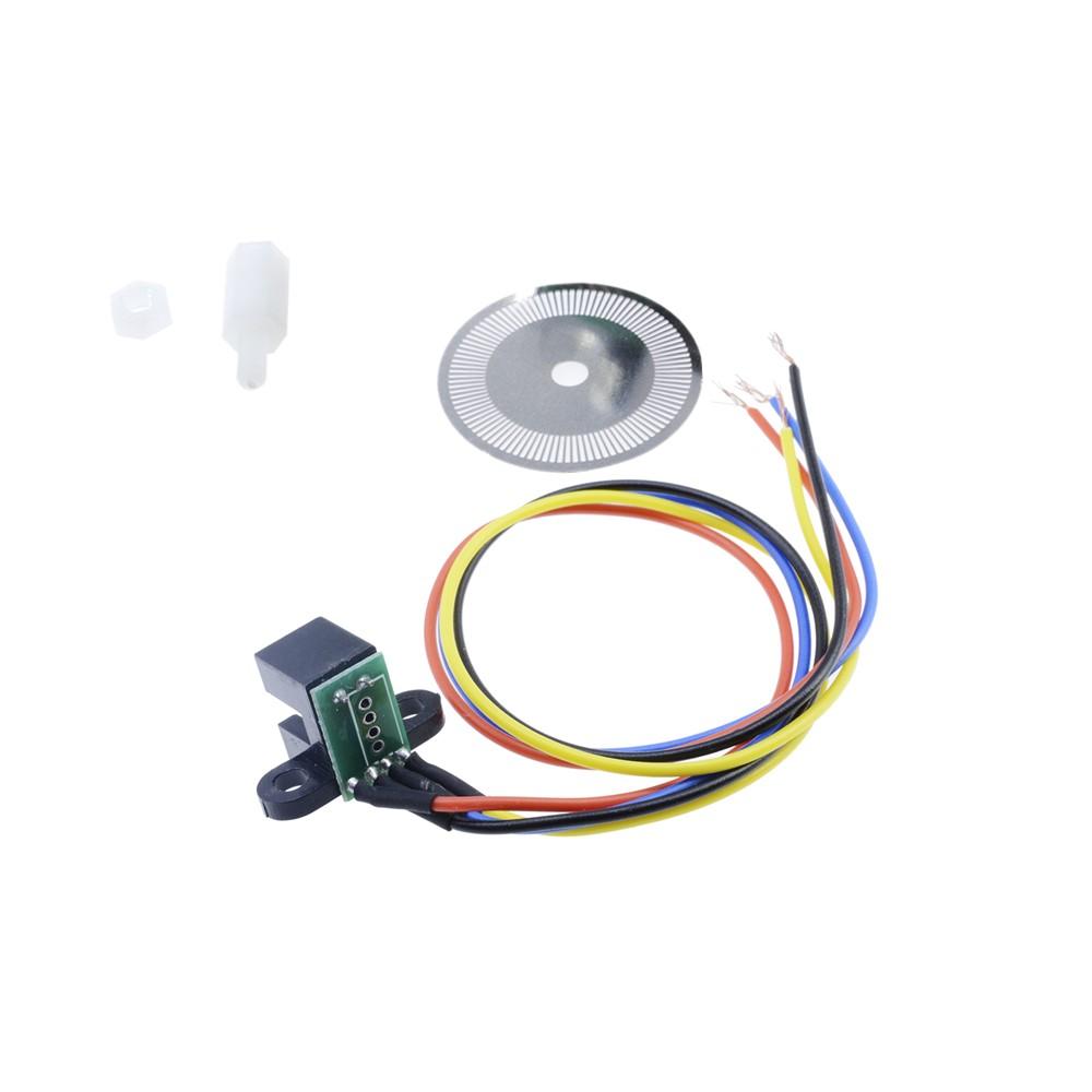 Photoelectric Speed Sensor Encoder Coded Disc Wheel For