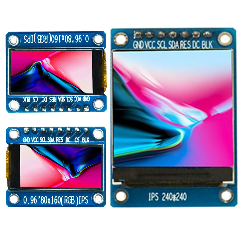 Details about 0 96/1 3'' IPS SPI Full Color 80x160 240x240 LCD Display  Module for Arduino ML