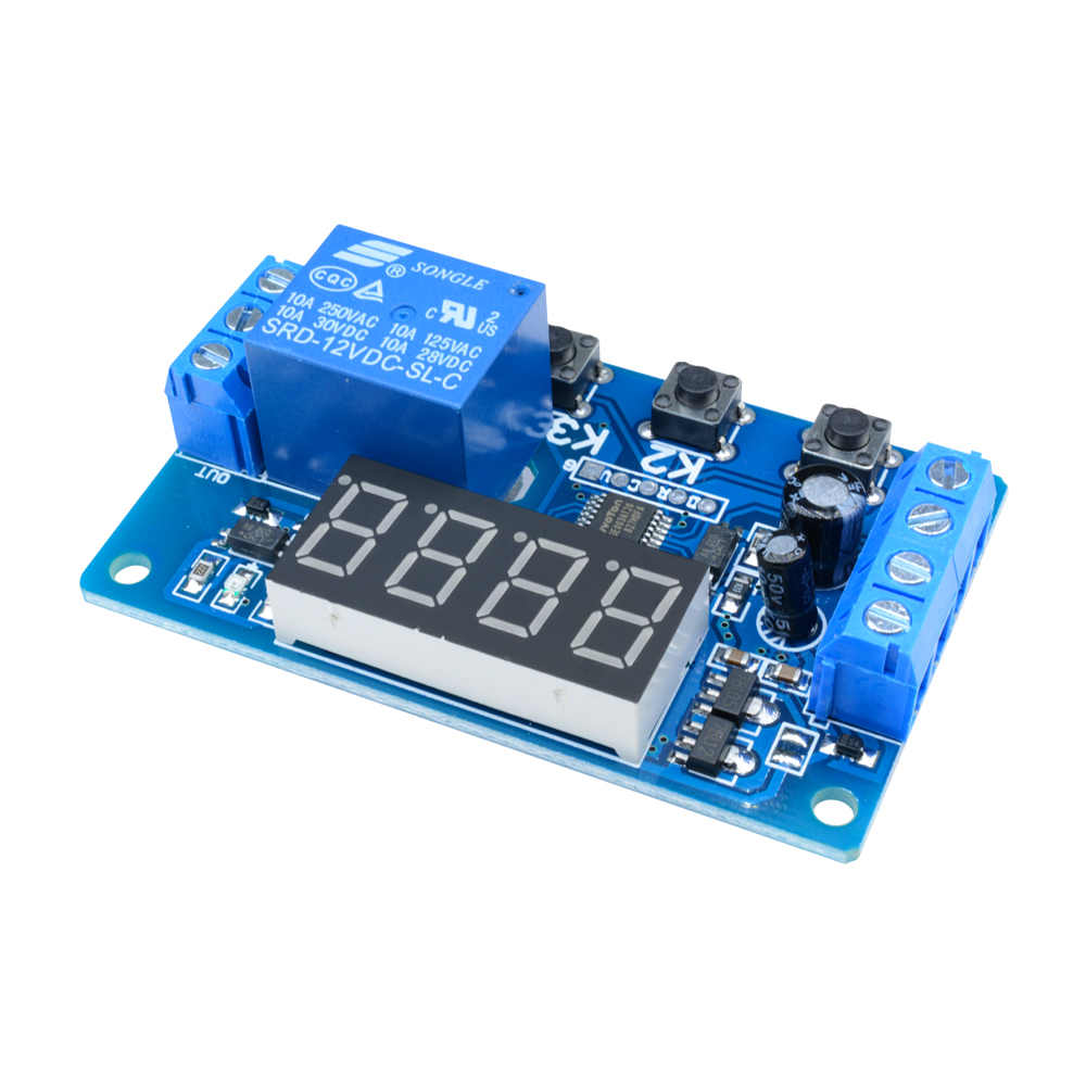 Details about  /12V LED Automation Digital Delay Timer Control Switch Relay Module TY C1N4