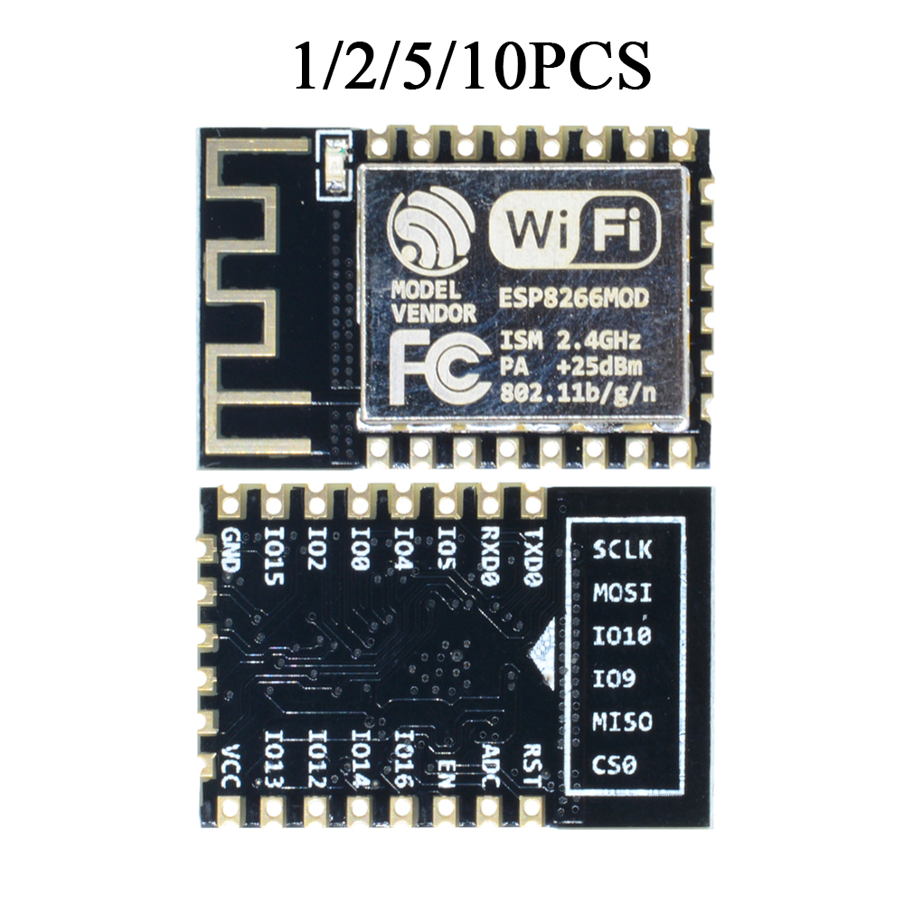 1//2//5//10PCS ESP8266 Esp-01 Remote Serial Port WIFI Transceiver Module AP+STA
