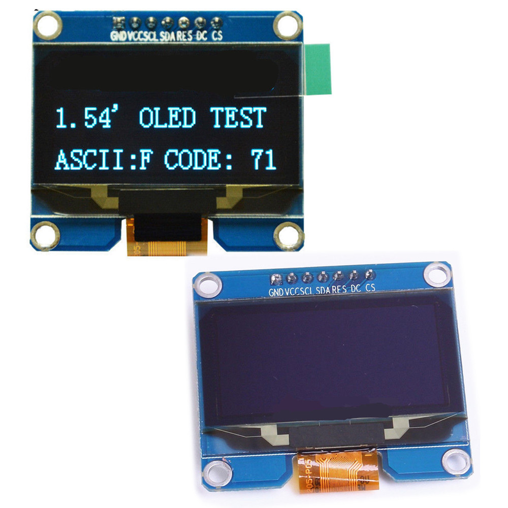 "SPD0301 7PIN 1.54/"" inch OLED Display LCD Module IIC I2C SPI interface 128*64"