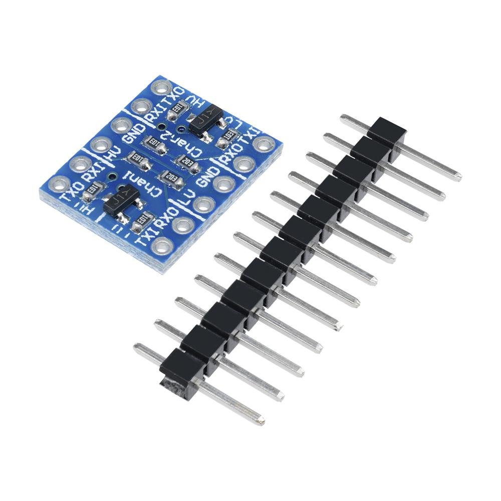 2PCS Two Channel IIC I2C Logic Level Converter Bi-Directional Module 5V to 3.3V
