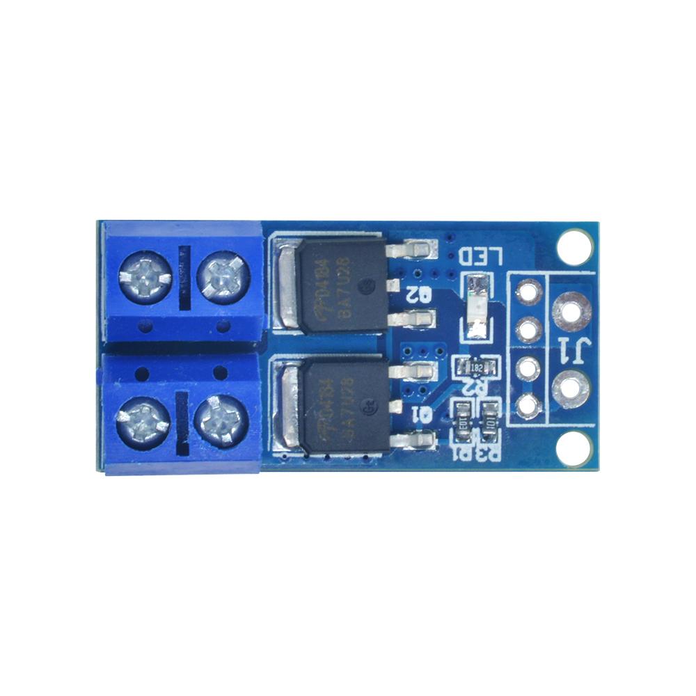 15 A 400 W Módulo de unidad de conmutación MOS FET gatillo Panel de control PWM Regulador
