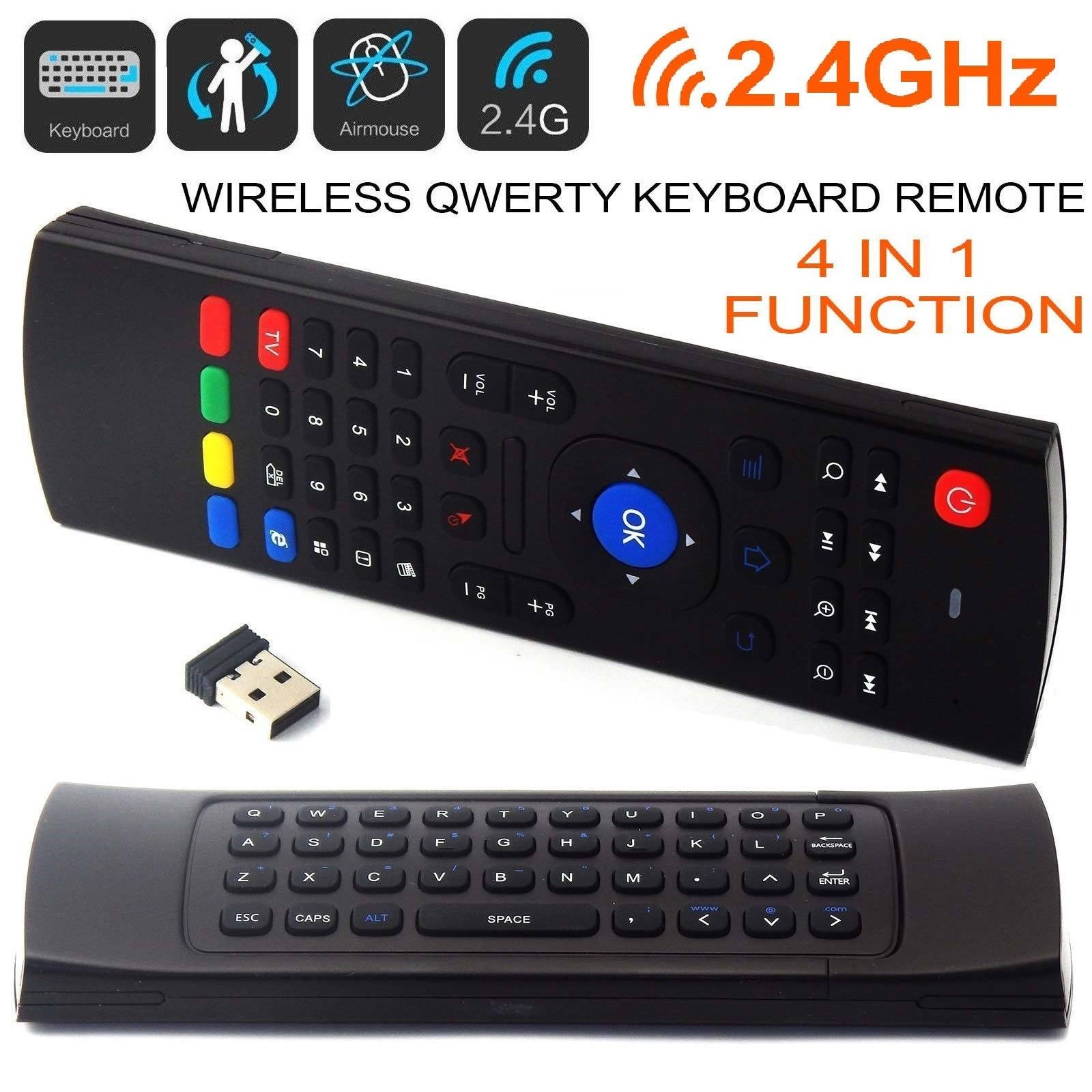 2.4GHz Plastic Wireless Android TV Box Remote Control Keyboards Air Mouse