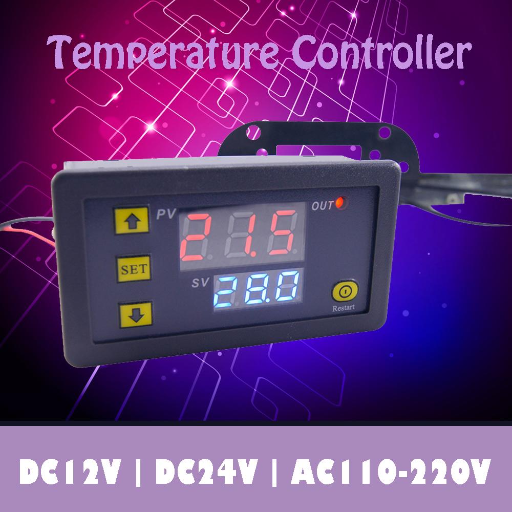 Digital display LCD Automatic constant Temperature Humidity Control 220V 12V 24V