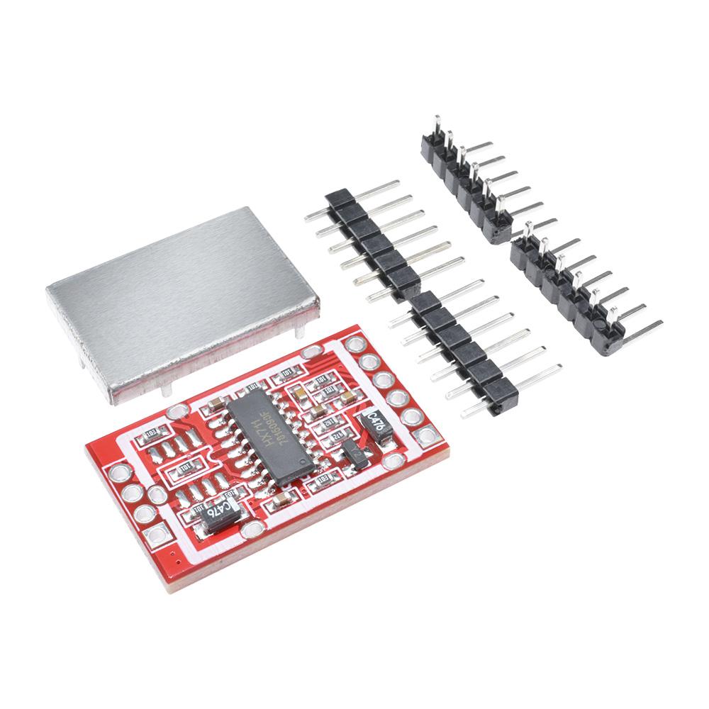 HX711 Dual-channel 24-bit A//D Conversion Weighing Sensor Module+Metal Shied