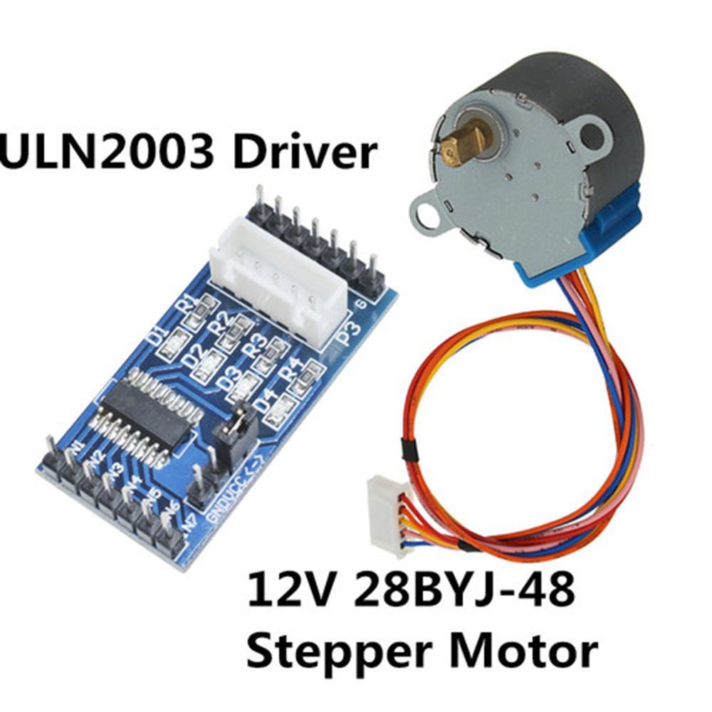 Módulo de Controlador de motor paso a paso 28BYJ-48 2003 para Arduino DC 12V motor paso a paso