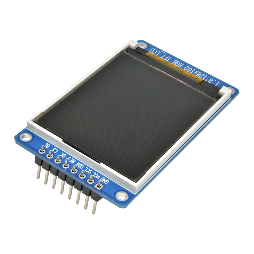 1.8 inch Full Color 128x160 SPI TFT LCD screen instead OLED of  Arduino ATF